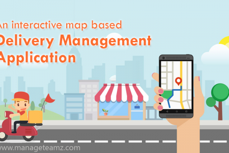 Delivery Management Application Infographic