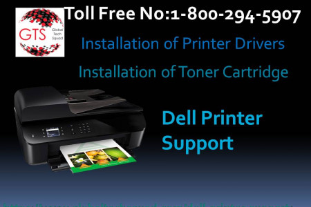 Dell Printer solution services Dial:(800) 294-5907 Infographic