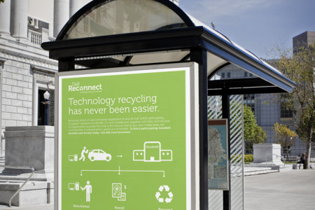 Dell Reconnect (environmental) Infographic