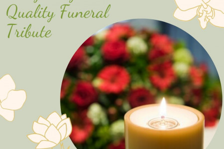 Design High Quality Funeral Tribute - BerylMartin Infographic