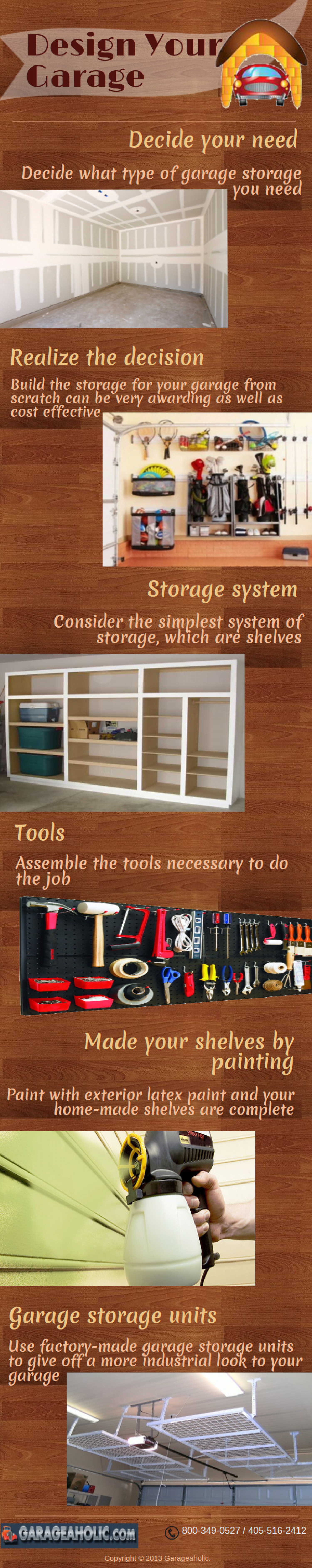 Design Your Garage Infographic