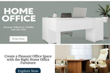 Design Your Workspace With Modern Office Furniture Infographic