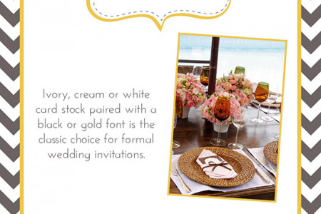 Designing Your Wedding Invitations Infographic