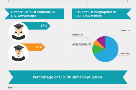 Details about U.S. university students Infographic
