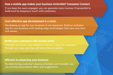 Develop an app to boost your profits Infographic