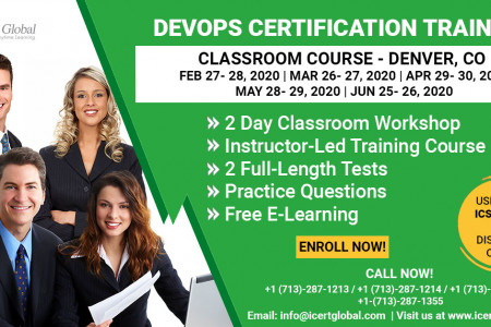 DevOps Certification Training Classroom Course in Denver, CO Infographic