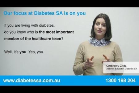 Diabetes is About Self Management and A Long Term Commitment to Good Health- Diabetes SA Infographic