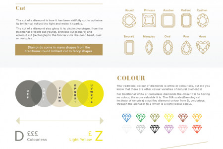Diamond Jewellery Infographic Infographic