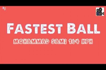 Did you know about Fastest Ball Of cricket History? Infographic