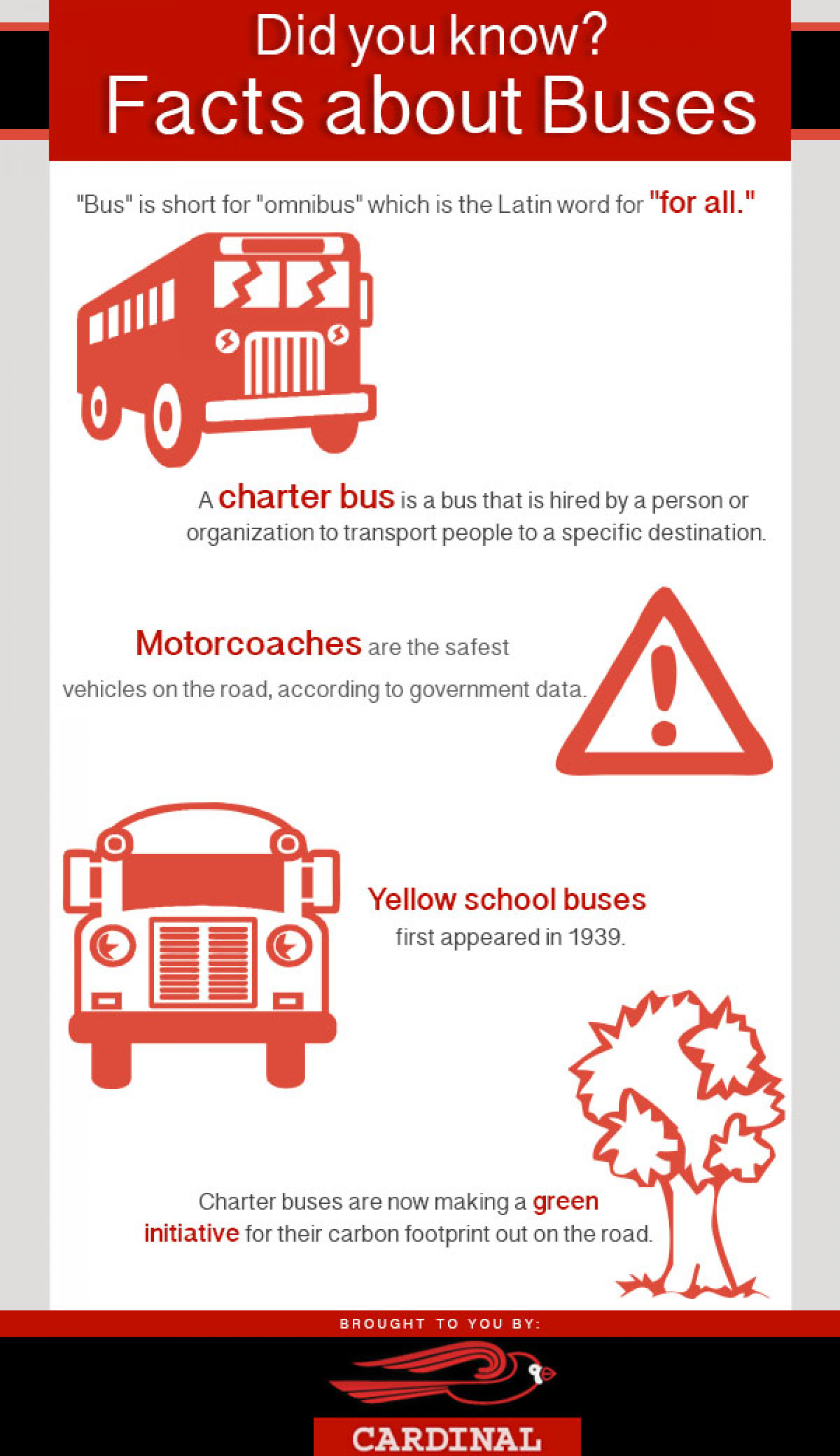 Did you know? Facts about Buses Infographic