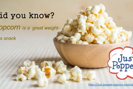 Did you know?Popcorn is a great weight-loss snack Infographic