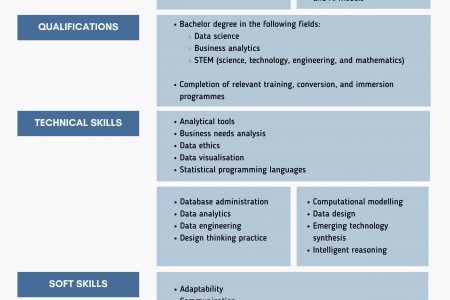Difference Between a Data Analyst and Data Scientist Infographic