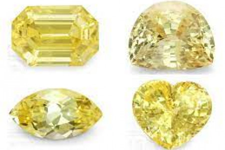 Different Shapes (Cuts) Of Yellow Sapphire Stone - 9Gem.com Infographic