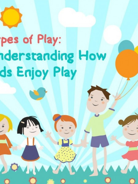 Different Types of Kids Play Infographic