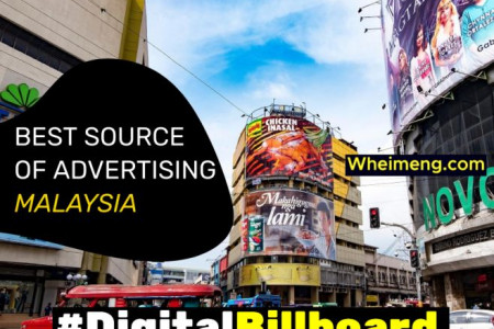 Digital Billboard Malaysia best source of advertising Infographic