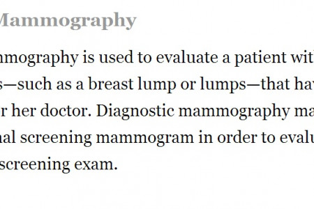 Digital Mammography NJ - www.bergenimagingcenter.com Infographic