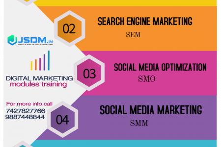 Digital marketing course in jaipur Infographic