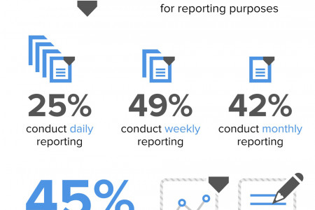 Digital Marketing Reporting Infographic