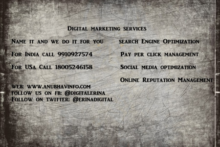 Digital Markting Services in India, USA and Canada Infographic