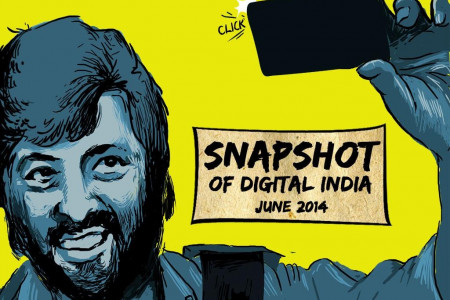 Snapshot of Digital India June 2014 Infographic