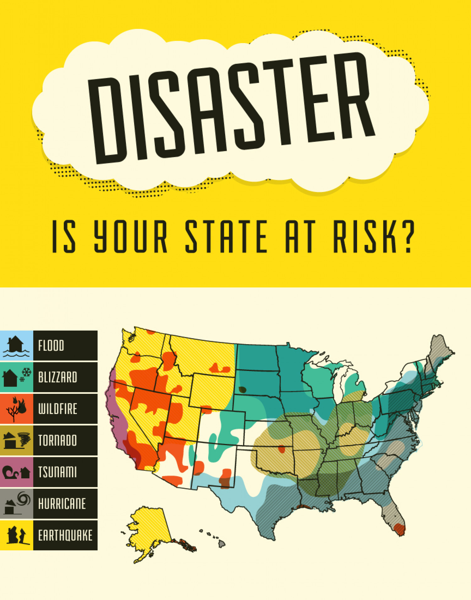 Disaster: Is your state at risk? Infographic