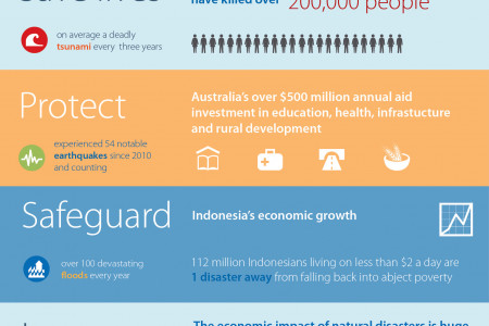 Disaster in Indonesia  Infographic