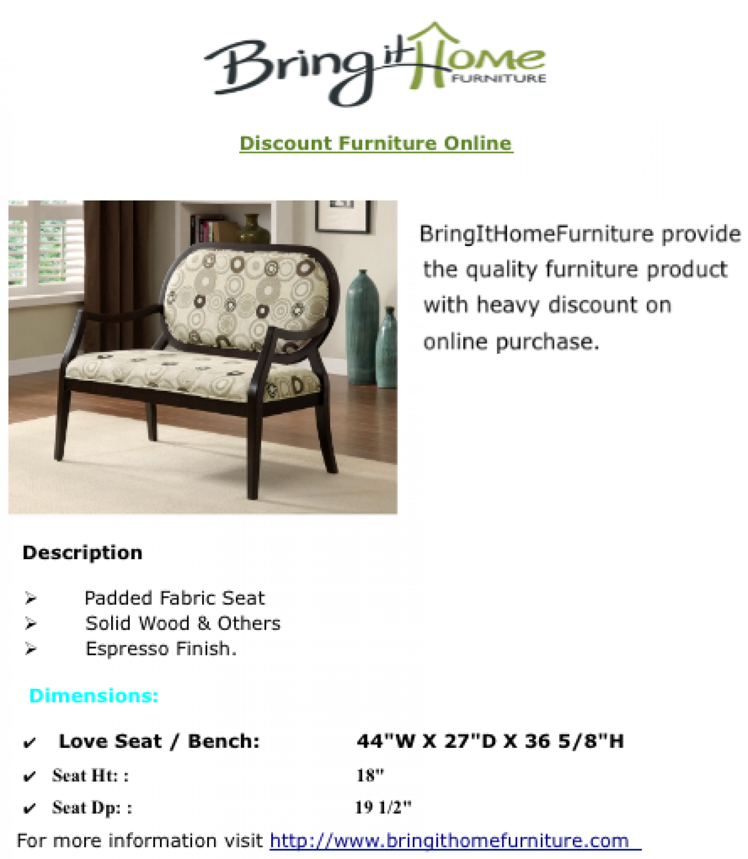 Discount furniture online for Discount furniture on line