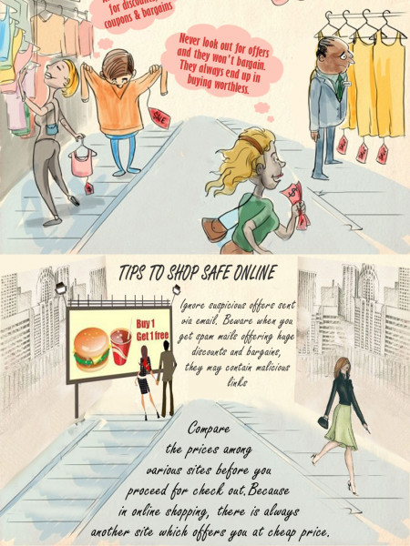 How to Shop at Best Price Online Infographic