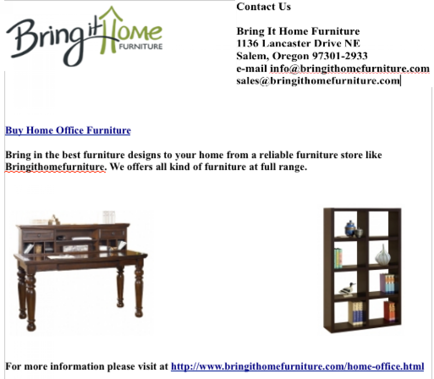 Discount On Home Office Furniture
