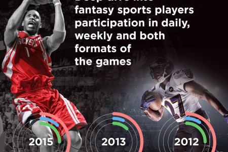Discover Fantasy Sports Players Infographic
