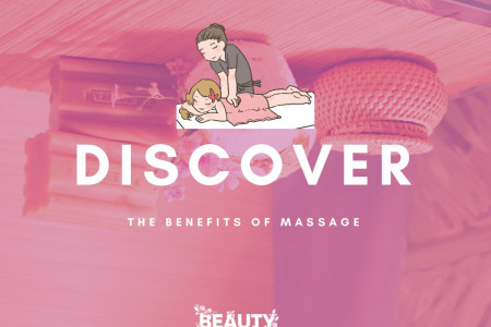Discover the Benefits of Massage Infographic