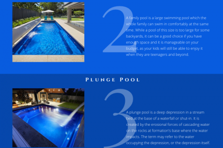 Discover The Top 5 Types Of Swimming Pools You Can Install In Your Home Infographic