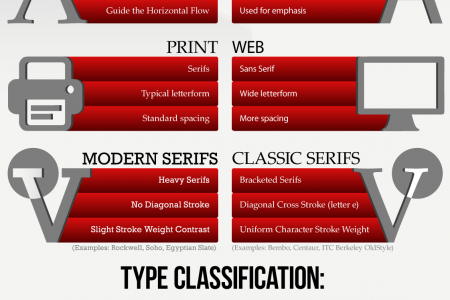 Discover the Type Infographic