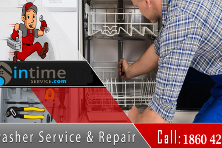 Dishwasher repairs and installation services  Infographic