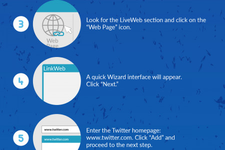 Display a Live Twitter Feed in PowerPoint 2016 Infographic