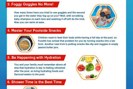 Dive Into 8 Great Pool Time Tips Infographic