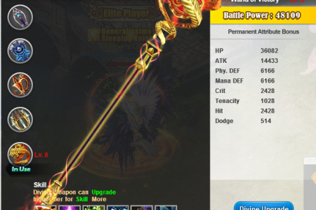 Divine Weapon Infographic