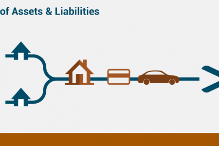 Division of Assets and Liabilities Infographic