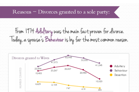 Divorce - Who and Why? Infographic