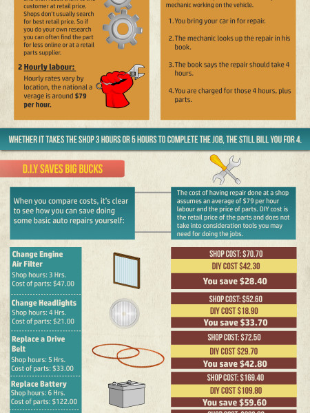 Why To D.I.Y. Infographic