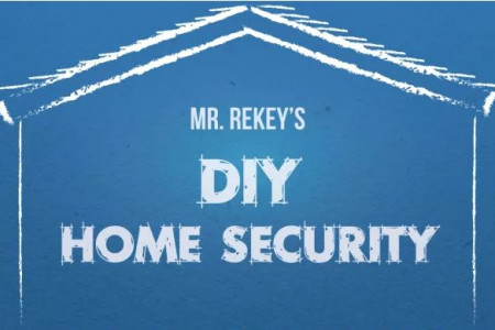 DIY Home Security Tips & Tricks to Burglar-Proof Your Home Infographic