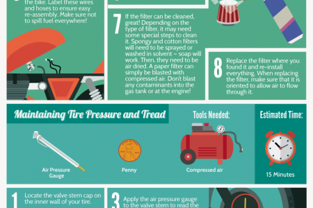DIY Motorcycle Maintenance  Infographic