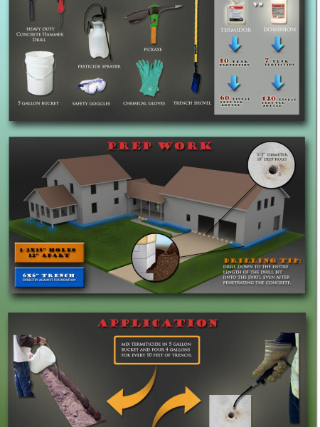 DIY Termite Treatment Guide Infographic