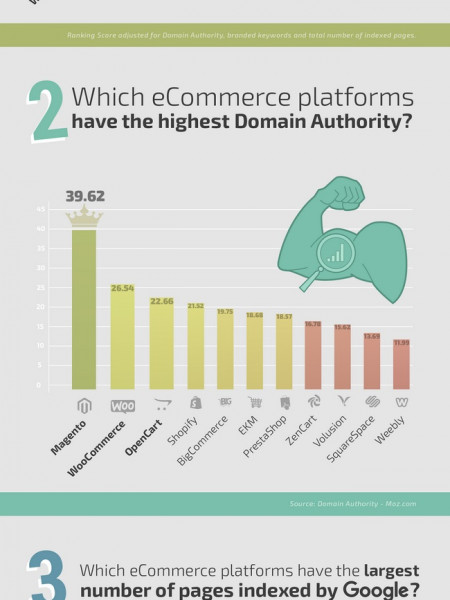 Does your choice of eCommerce Cart Affect your SEO Infographic