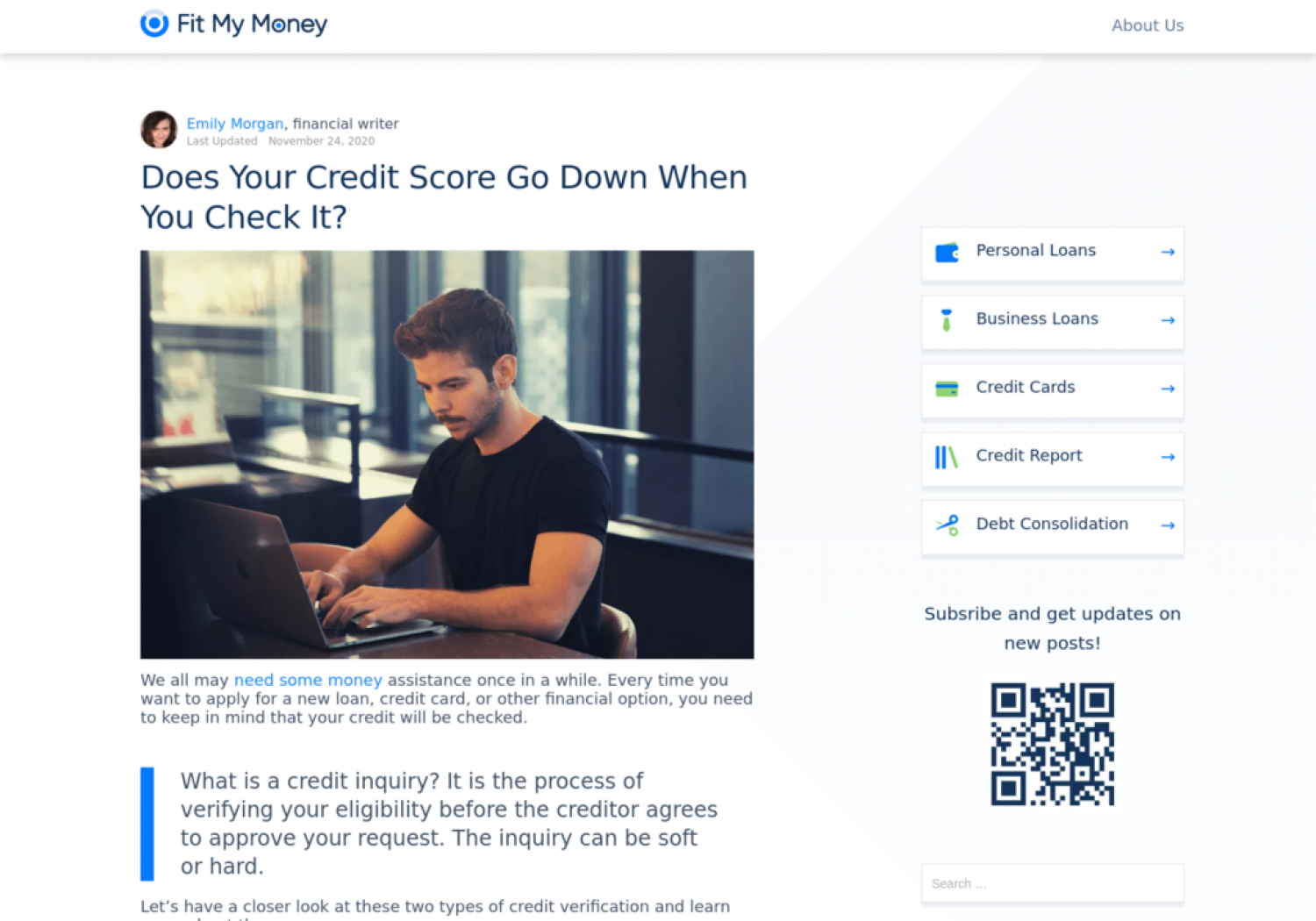 Does Your Credit Score Go Down When You Check It? Infographic