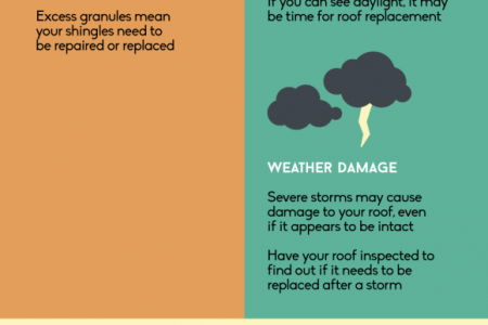 Does Your Roof Need Repairing or Replacing? Infographic