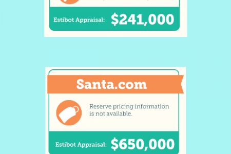 Domain in Auction Infographic