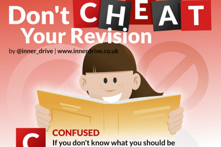 Don't Cheat Your Revision Infographic