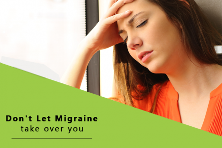 Don't let Migraine take over you: Get online homeopathic consultation in India for effective treatment Infographic