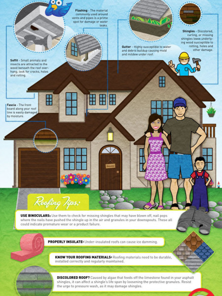 Don't Let Your Roof Cave In! Things to Look Out for Infographic